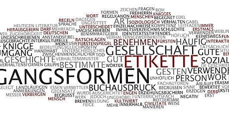 Seminar  Knigge & Business-Etikette am 16.01.2021 in Frankfurt am Main Tickets