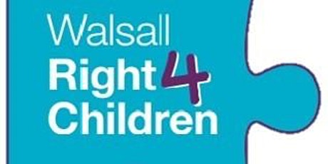 Walsall Right for Children  Schwartz Round tickets