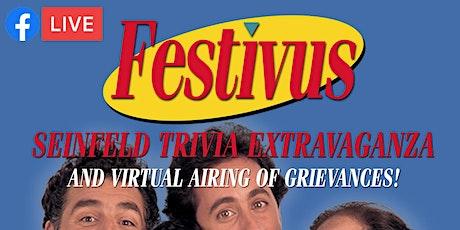 Festivus: Seinfeld Trivia Extravaganza Live-Stream tickets