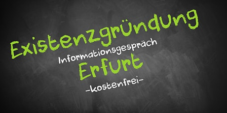 Existenzgründung Online kostenfrei - Infos - AVGS  Erfurt Tickets