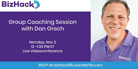 Group Coaching Session with Dan Grech tickets