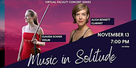 Faculty Concert: Music in Solitude tickets