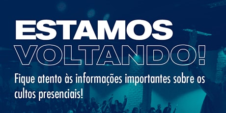 Culto - Domingo - 19H tickets