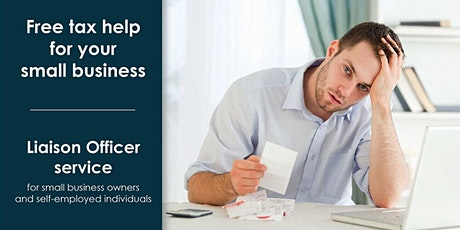 Free tax webinar to help your small business (English Event) billets