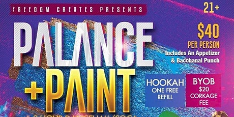 Palance & Paint tickets