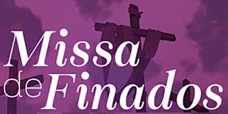 MISSA DE FINADOS NO SANTUÁRIO ingressos