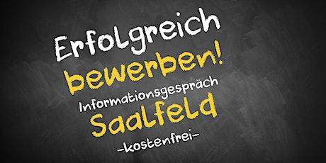 Bewerbungscoaching Online kostenfrei - Infos - AVGS Saalfeld Tickets