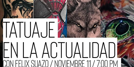 Tatuaje en la Actualidad tickets