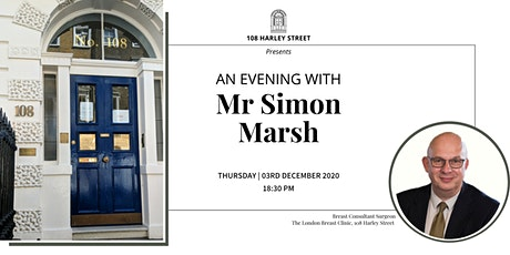 An Evening with Mr Simon Marsh tickets