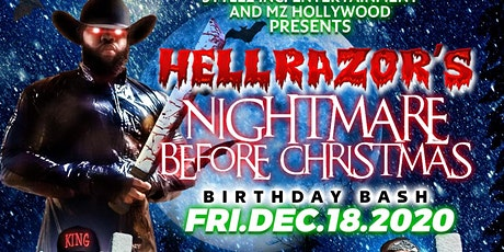 The Nightmare Before Christmas Male Review Celebrating Hellrazor's Birthday tickets