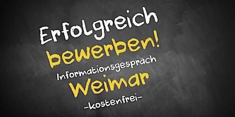 Bewerbungscoaching Online kostenfrei - Infos - AVGS  Weimar Tickets