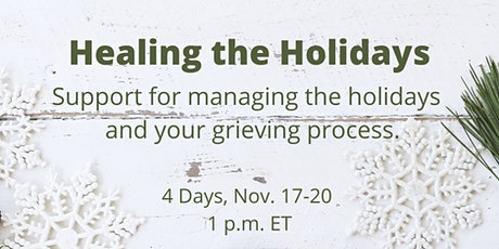 Healing the Holidays tickets