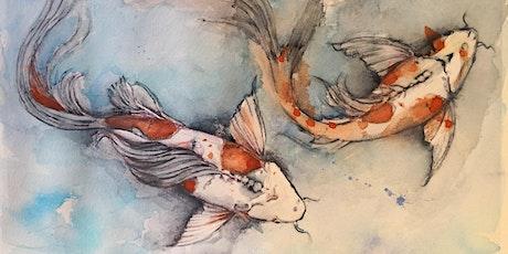 Intermediate Watercolor Workshop with Carolyn DiFiori-Hopkins tickets