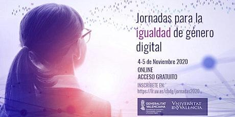 Jornadas para la Igualdad de Género Digital boletos