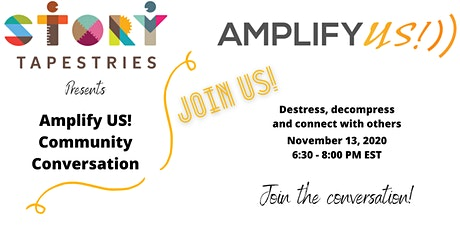Amplify US! Community Conversation tickets