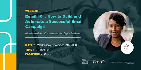 Email 101: How to Build and Automate a Successful Email Campaign tickets