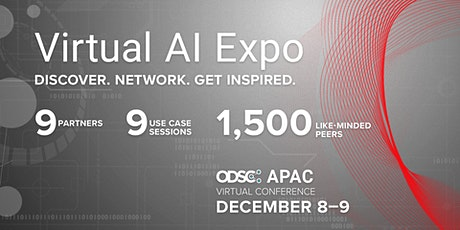 Virtual AI Expo  || ODSC APAC 2020 Virtual Conference tickets
