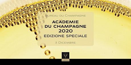 Académie du Champagne 2020 - Edizione Speciale biglietti
