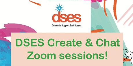 DSES Create & Chat Zoom sessions! tickets