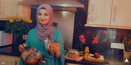 Vegetarian Syrian cookery class with Amani (NEW CHEF!) tickets