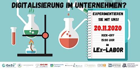 Kick-Off  der Lern- und Experimentier-Labore 2021 Tickets
