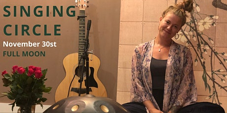 Novembers Full Moon Singing Circle with Leonie Bos tickets