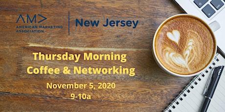 Thursday Morning Coffee & Networking (Virtual Zoom)