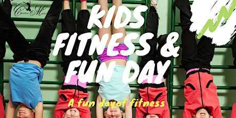 Kid Fitness and fun day tickets