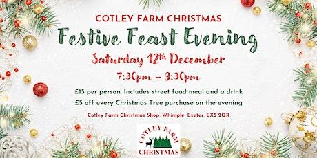 Cotley Farm Christmas Festive Feast Evening - Saturday 12th December 2020 tickets