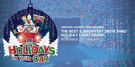 HOLIDAYS IN YOUR CAR  -- VENTURA tickets
