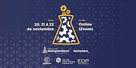 Startup Weekend Social Innovation Online entradas