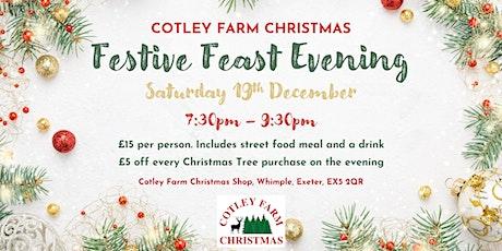 Cotley Farm Christmas Festive Feast Evening - Saturday 19th December 2020 tickets