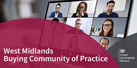 West Midlands Buying Community of Practice tickets