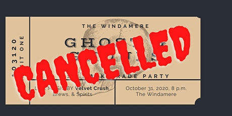 CANCELLED- Ghost & Ghouls Mask-erade Ball tickets
