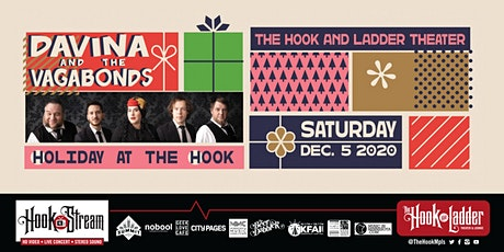 Davina & The Vagabonds 'Holiday At The Hook' - Live Studio Audience tickets