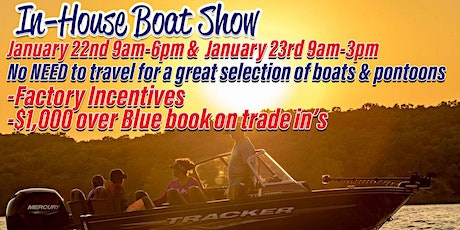 In House Boat Show tickets