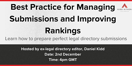 Best Practice for Managing Submissions and Improving Rankings tickets