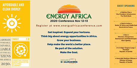 VIRTUAL ENERGY AFRICA CONFERENCE tickets