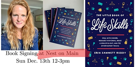 Book Signing at Nest with local Author, Erin Zammett Ruddy! tickets