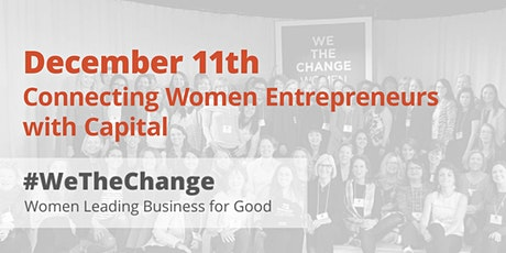 Connecting Women Entrepreneurs with Capital tickets