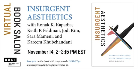 Virtual Book Salon | Insurgent Aesthetics tickets