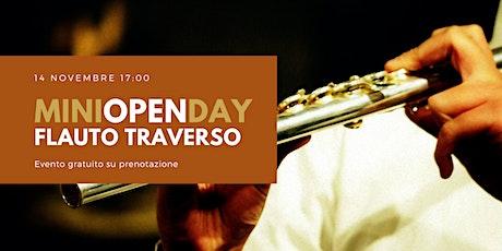 Flauto Traverso - miniOPENday biglietti
