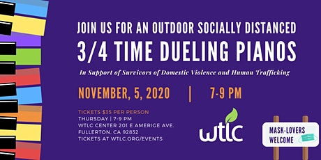 3rd Annual ¾ Time Dueling Pianos for WTLC tickets