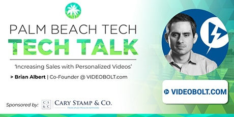 TECH TALK | 'Increasing Sales With Personalized Videos' (VideoBolt.com) tickets