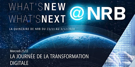 25/11 : LA JOURNÉE DE LA TRANSFORMATION DIGITALE billets