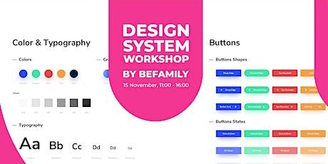 Design System Workshop with BeFamily biglietti