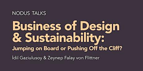 NODUS TALKS Business of Design & Sustainability tickets