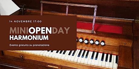Harmonium - miniOPENday biglietti