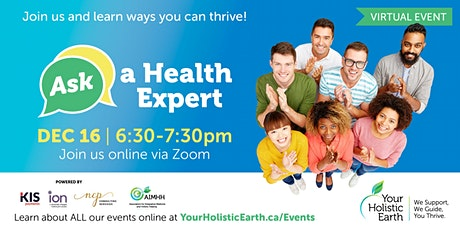 Ask the Health Expert - Online Evening - Self Care tickets