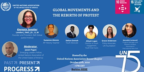 GLOBAL MOVEMENTS AND THE REBIRTH OF PROTEST tickets